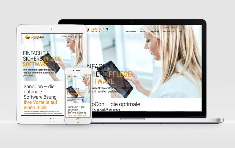 SanoCon Website NEU